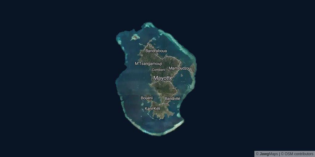 Mayotte, Indian Ocean